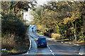 SY9289 : A351 near Sandford Bridge by David Dixon
