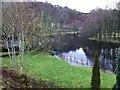 NN5733 : A swollen River Lochay by Dave Fergusson
