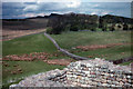 NY7968 : Tower at the north east corner of Housesteads Roman Fort by Phil Champion