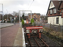 NS3881 : Balloch Central railway station (site), West Dunbartonshire by Nigel Thompson