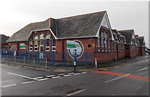 ST1166 : Corner view of Barry Island Primary School and Nursery by Jaggery