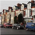 ST1166 : Barry Island post office by Jaggery