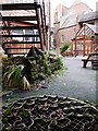 NZ2463 : Courtyard of Black Swan, Westgate Road by Andrew Curtis