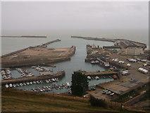 TR3140 : Dover Marina by David Anstiss