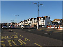 TQ2704 : View west along Kingsway, Hove by Dave Spicer