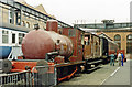 SJ8297 : Fireless 0-4-0T preserved at Manchester Museum of Science & Industry by Ben Brooksbank
