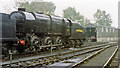 TQ4023 : Original SR Bulleid 0-6-0 at Sheffield Park, Bluebell Railway 1992 by Ben Brooksbank