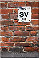SP5007 : Benchmark and SV sign on #73 Walton Street by Roger Templeman
