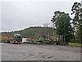 NY7975 : Haulage yard, Stonehaugh by Oliver Dixon