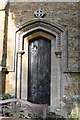 TF1892 : Priests Door, St Martin's church, Kirmond le Mire by J.Hannan-Briggs