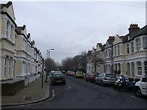 TQ2673 : Atheldene Road, Earlsfield by David Anstiss