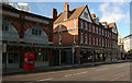 TQ3381 : Old Spitalfields Market: buildings and entrance by Julian Osley