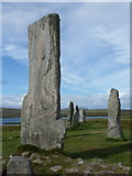 NB2133 : Callanish: the largest of the stones by Chris Downer