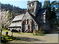 SH7956 : Grade II* listed St. Mary's Church, Betws-y-Coed by Jaggery