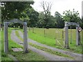 N2966 : Drive, Crumlin House by Richard Webb