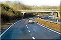 SU4633 : Bridge over A34 near Littleton by David Dixon