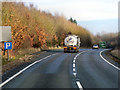 SU4559 : Layby on the A34 by David Dixon