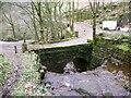 SD9626 : Cow Bridge, Jumble Hole by Humphrey Bolton