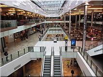 TQ3884 : Westfield Shopping Centre, Stratford, London by Colin Park