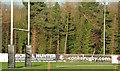 J3269 : Rugby posts, Belfast (2) by Albert Bridge