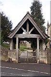 SO8700 : The lych gate to Holy Trinity Church by Steve Daniels