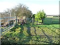 SE4232 : Public footpath to East Garforth by Christine Johnstone