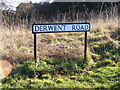 TL1116 : Derwent Road sign by Adrian Cable