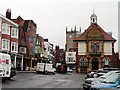 SU1869 : High Street, Marlborough by nick macneill