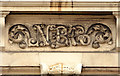 D1003 : Bank initials, Ballymena by Albert Bridge