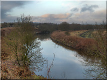 SD7909 : River Irwell at Warth by David Dixon