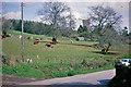 ST0319 : Rural Springtime scene at Hockworthy, 1963 by Ben Brooksbank
