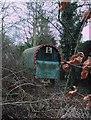 SU1698 : Gypsy caravan, Whelford by Vieve Forward