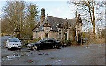 NS3882 : South Lodge of Cameron House by Lairich Rig