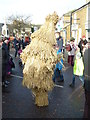 TL2797 : On one leg - Whittlesea Straw Bear Festival 2013 by Richard Humphrey