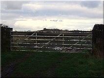 NZ3720 : Field entrance, Stoney Flatt Farm by JThomas
