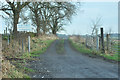 NS4267 : Track near Turningshaw Farm by Steven Brown