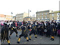 TL2797 : Witchmen Border Morris Dancers - Whittlesea Straw Bear Festival 2013 by Richard Humphrey