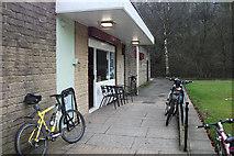 SD9927 : Park Life Cafe, Hebden Bridge by michael ely