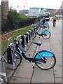 "TQ3380 : ""Boris bikes"" at Tower Hill by Oliver Dixon"