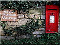 SO8009 : Old Standish Vicarage postbox, Little Haresfield by Jaggery