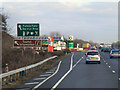 SP5317 : Family Farm Service Area, Northbound A34 by David Dixon