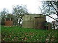 TQ2874 : Air raid shelter entrance, Clapham Common South by Stephen Craven