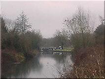 SU6570 : Garston Lock, Kennet & Avon Canal by Tim Glover
