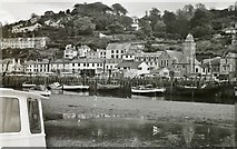 SX2553 : East Looe from across the harbour by Chris Morgan