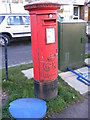 TL1116 : Kinsbourne Green Post Office George V Postbox by Adrian Cable