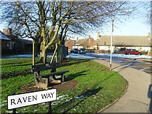 TL9927 : Raven Way, Mile End by Alex McGregor