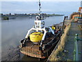 TF6120 : Saint Edmund KL - buoy maintenance vessel by Richard Humphrey
