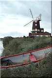 TG0444 : Cley windmill by Christopher Hilton