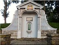 SD3129 : Ashton Gardens drinking fountain by Gerald England