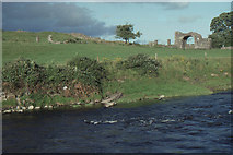 N8056 : Trim, county Meath: River Boyne and ruined gateway by Christopher Hilton